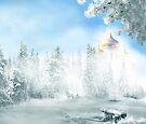 Winter Bench by Igor Zenin