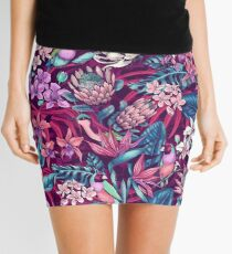 Stand Out! (ultraviolet 1) Mini Skirt