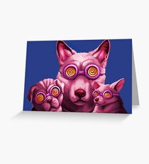 Dog Therapy Greeting Card