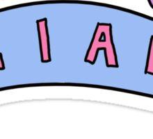 liam banner Sticker
