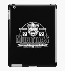 Mushroom Kingdom Munitions iPad Case/Skin