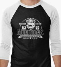 Mushroom Kingdom Munitions Men's Baseball ¾ T-Shirt