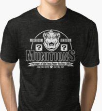 Mushroom Kingdom Munitions Tri-blend T-Shirt