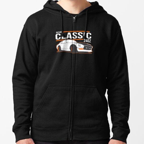DATSUN NISSAN 240Z Zipped Hoodie