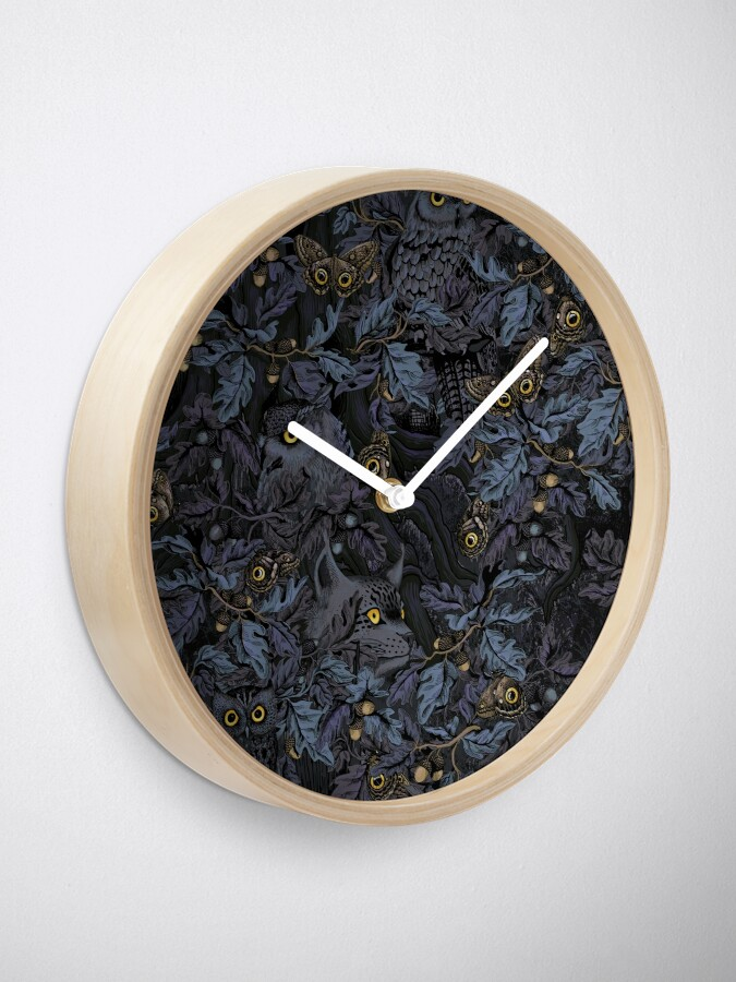 Alternate view of Fit In (moonlight blue) Clock