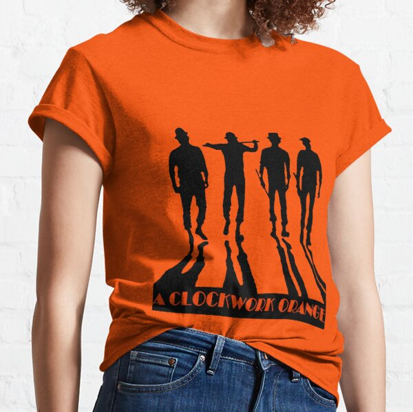 T-shirts sur le thème Orange Mécanique |