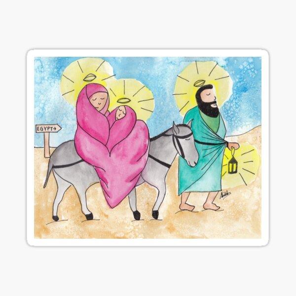 Jesus Was A Refugee Sticker