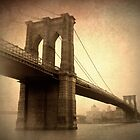 Brooklyn Bridge Nostalgia by Jessica Jenney