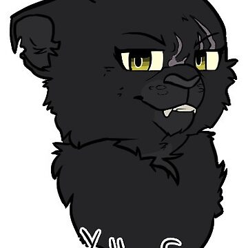 Yellowfang- Warriors Sticker by 0Bluejay0