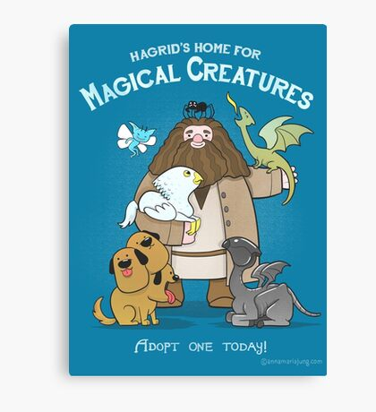 Hagrid's Home for Magical Creatures Canvas Print
