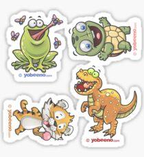 Animal Minis Sticker Sheet - 01 Sticker