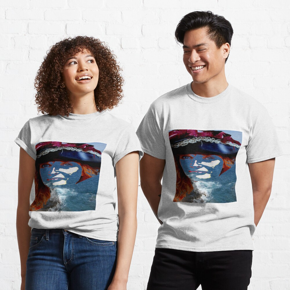 Face in the Sea Classic T-Shirt