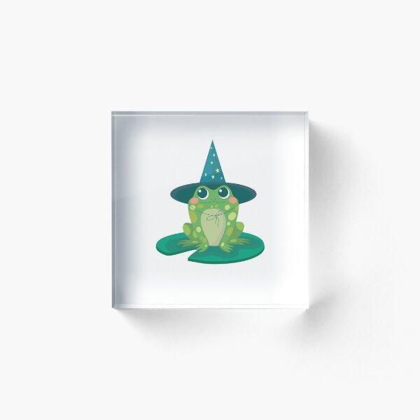 Magical baby frog Acrylic Block