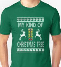 My Kind Of Christmas Tree - Drag Racing Sweater Design Unisex T-Shirt