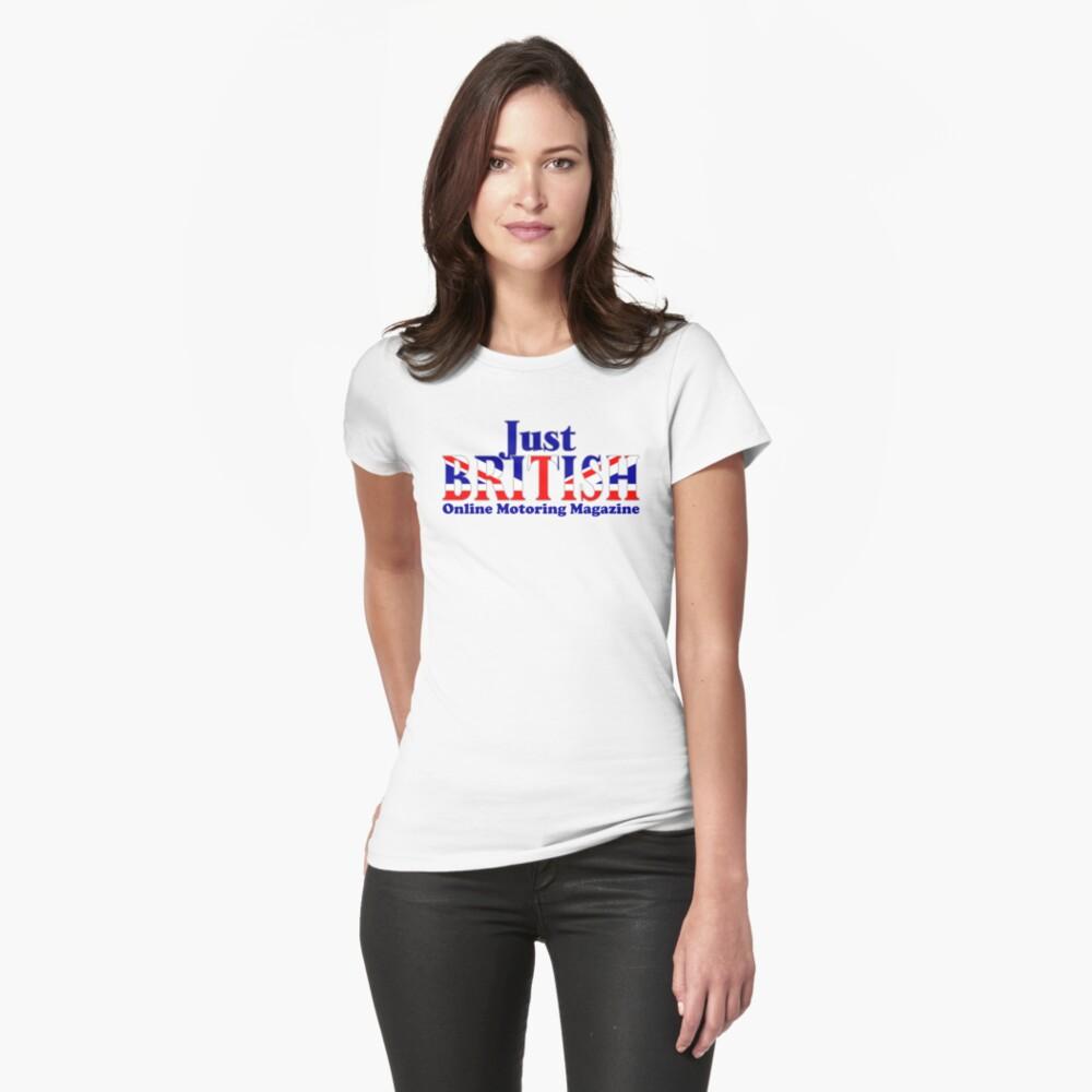 Just British Online Motoring Magazine Fitted T-Shirt