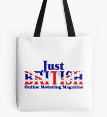 Just British Online Motoring Magazine Tote Bag
