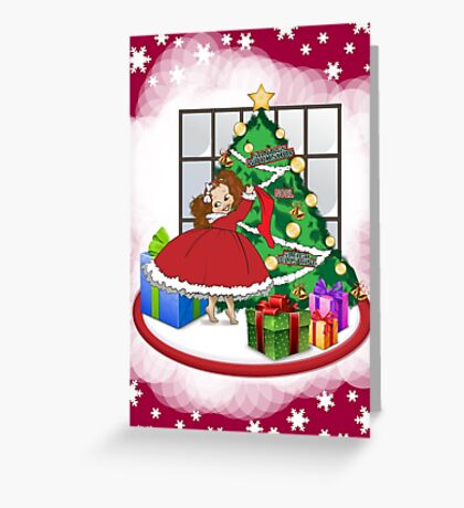 Buttercup Holiday Greeting Card