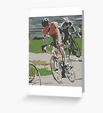 20K BICYCLE ALA MODE......! Greeting Card
