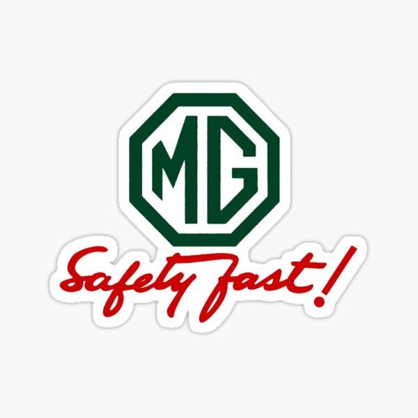 MG Safety Fast Sticker