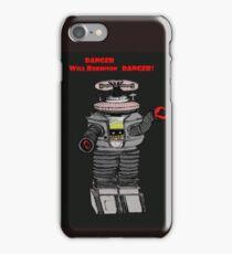 Danger Will Robinson, Danger! iPhone Case/Skin