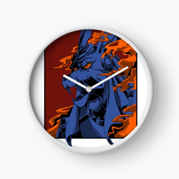 anubis king of dead (up size) Clock