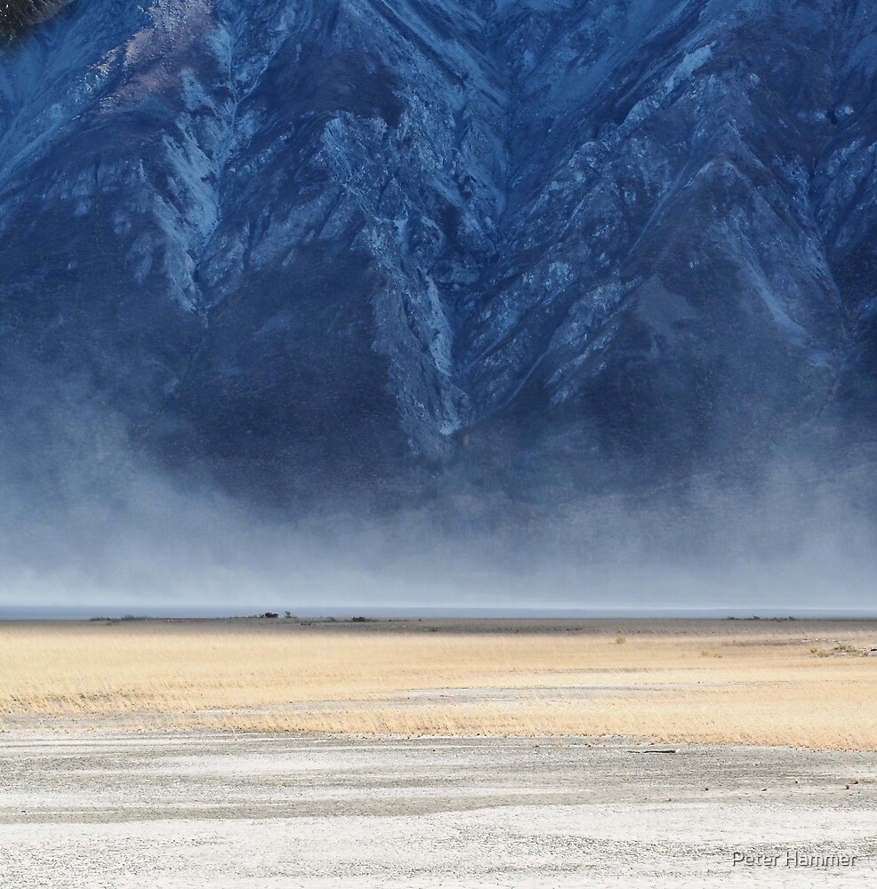 Dust Storm at Lake Kluane by Peter Hammer