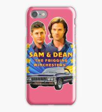 Sam & Dean Vintage Transfer iPhone Case/Skin