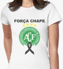 força chape - chapecoense Womens Fitted T-Shirt