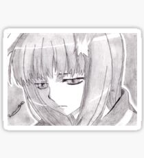 Spice and Wolf - Holo The Wise Wolf Sticker