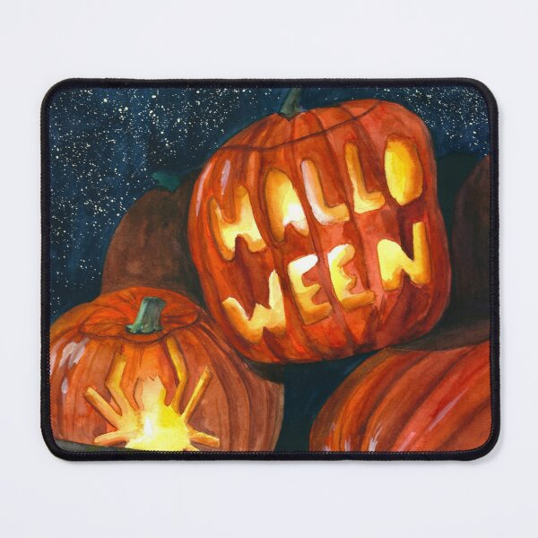 Halloween theme art Mouse Pad