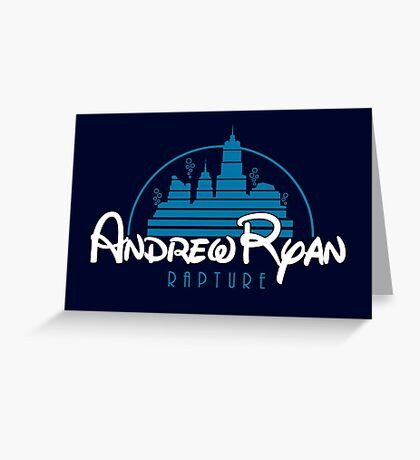 Andrew Ryan - Rapture Greeting Card