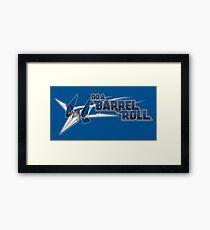 Do a Barrel Roll Framed Print