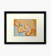 """The Muse at Midnight"" Framed Print"