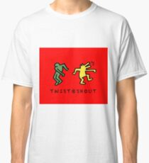 Twist & Shout - Keith Haring Classic T-Shirt