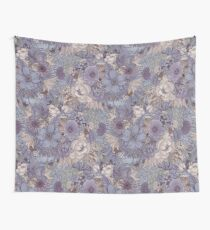 The Wild Side - Lavender Ice Wall Tapestry