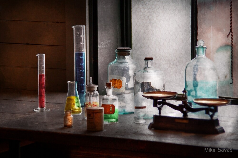 Science - Chemist - Chemistry Equipment  by Michael Savad