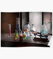 Science - Chemist - Chemistry Equipment  Poster