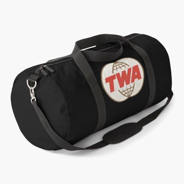 TWA Trans World Airlines USA Duffle Bag