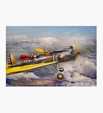 Flying Pig - Plane -The joy ride Photographic Print