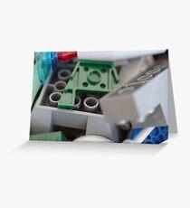 Lego Bricks Greeting Card