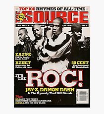 Jay-Z, The ROC, Source Magazine Cover Photographic Print