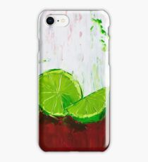 Zesting a Lime iPhone Case/Skin