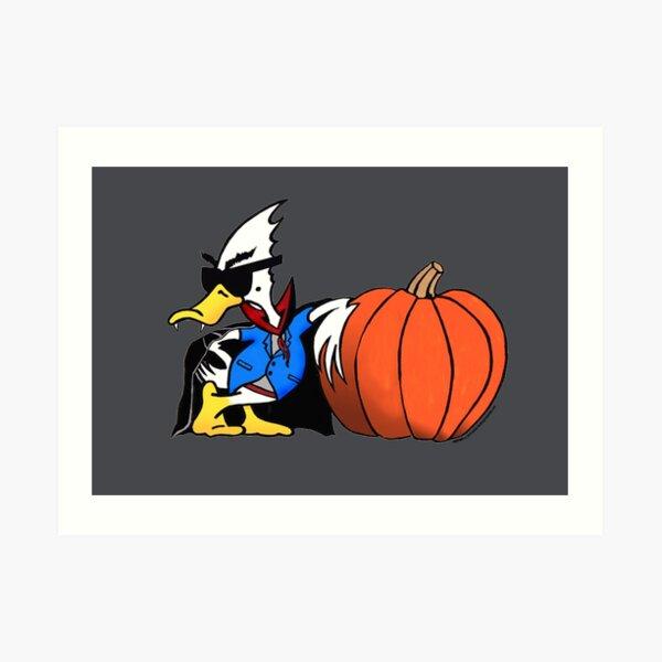 Halloween Duck - Duck Logic Art Print