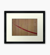 Hardwood paint Framed Print