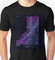 USGS TOPO Map Arkansas AR Powhatan 260257 1935 62500 Inverted Unisex T-Shirt