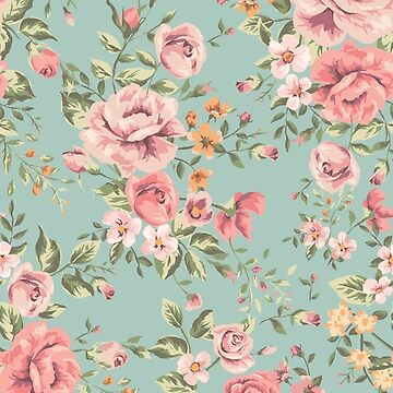 Vintage Floral Pattern by brendonrush