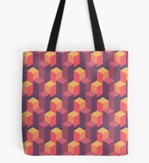 Sunset Isometric Tote Bag