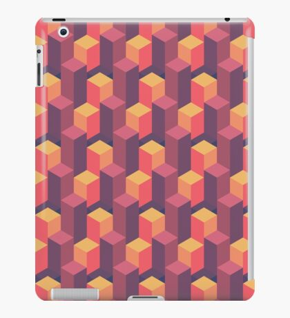 Sunset Isometric iPad Case/Skin