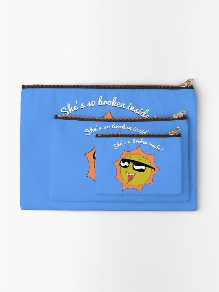 Alternate view of Crazy Ex Girlfriend Zipper Pouch