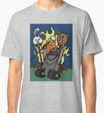 Teddy Bear And Bunny - Gone Native Classic T-Shirt